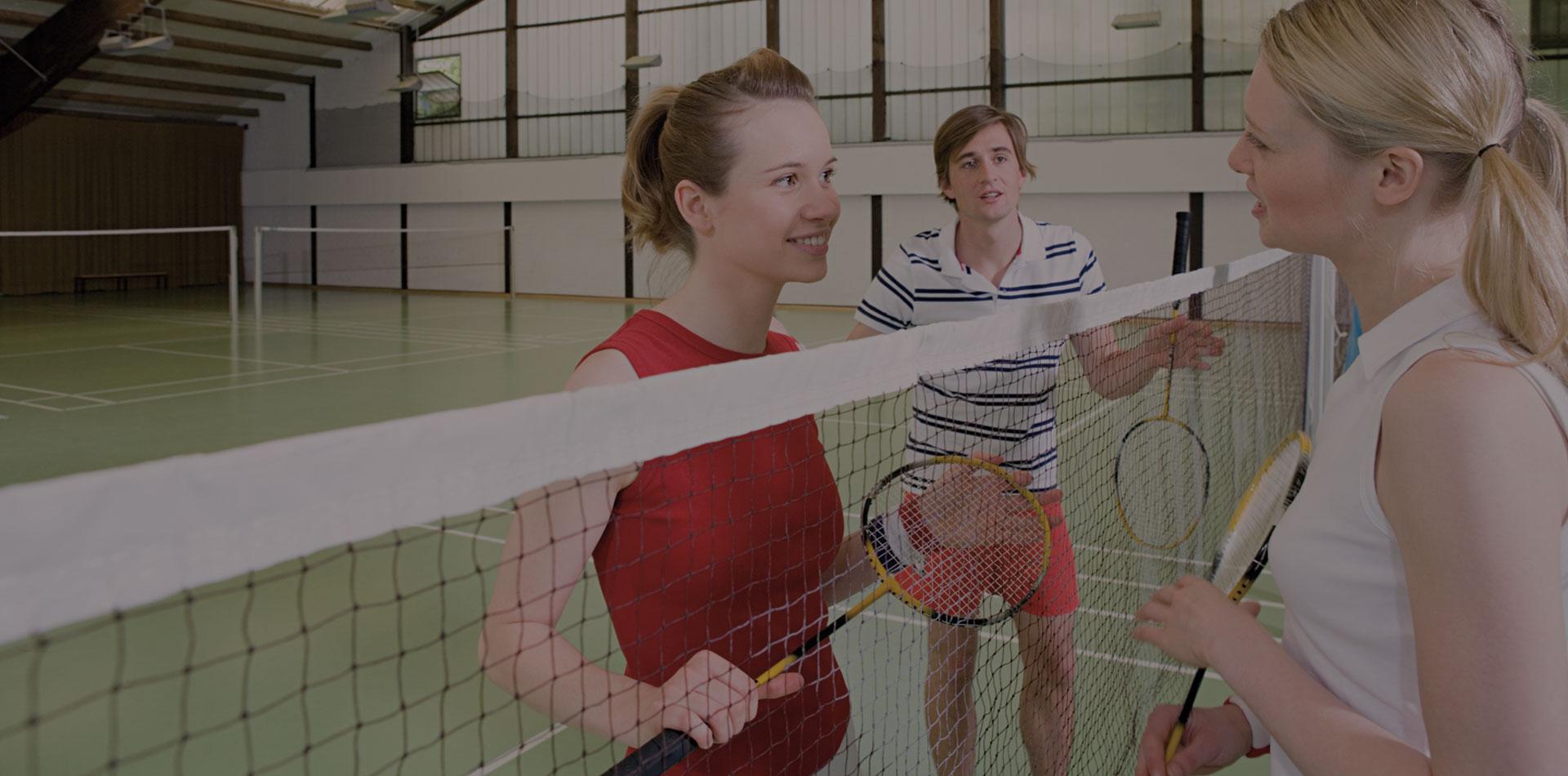 Badminton im Matchball Sportcenter