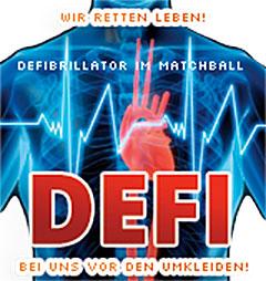 Matchball Sportcenter Leipzig Defibrillator